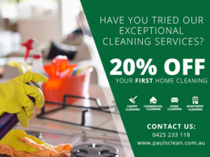 Home Cleaning Gold Coast Promo