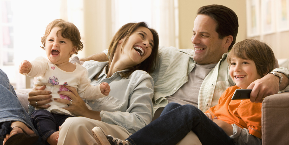 clean home happy family